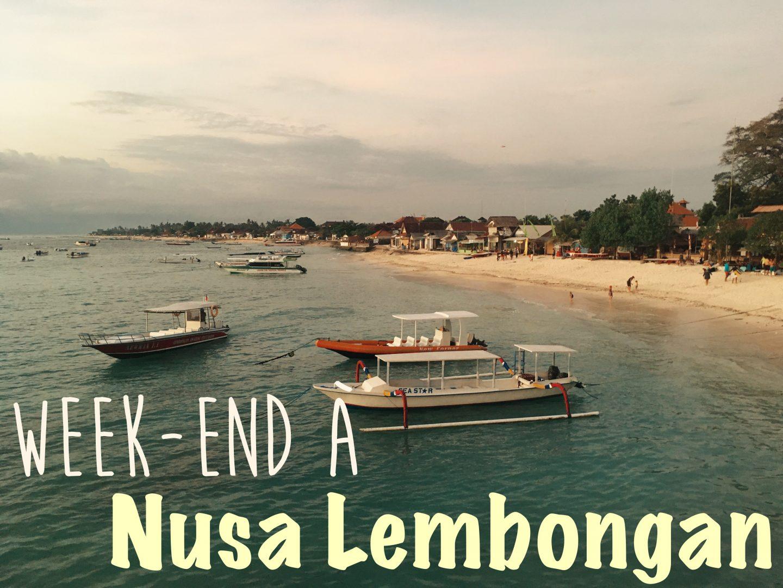 Week-end à Lembongan