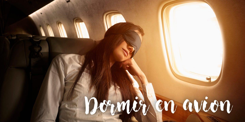 Bien dormir dans l'avion